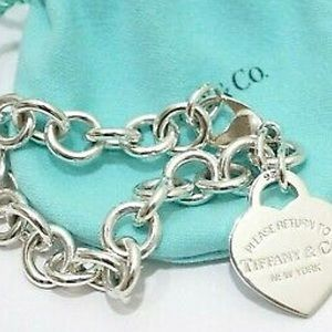 TIFFANY&CO Return to Tiffany ♥️ Tag Charm Bracelet